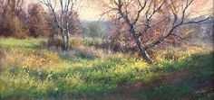 After The Rain by Lisa Mitchell Pastel ~ 10 x 20