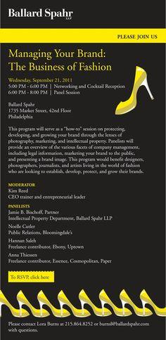 Ballard Spahr Managing Your Brand: The Business Fashion