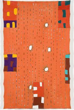 Os rios por meu fluido entrego meu coração, JOSÉ LEONILSON Coleção MAM - Museu de Arte Moderna de São Paulo
