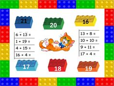 21 16 18 17 19 20 Math Sheets, Lego, 21st, Kids, Young Children, Boys, Children, Legos, Kid