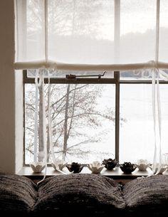 such a pretty window shade
