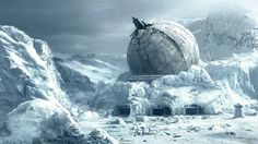 Ion cannon on Hoth
