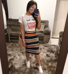 clothes for women,womens clothing,womens fashion,womans clothes outfits Casual Skirt Outfits, Modest Outfits, Modest Fashion, Trendy Outfits, Fashion Dresses, Cute Outfits, Apostolic Fashion, Dog Outfits, Modest Wear