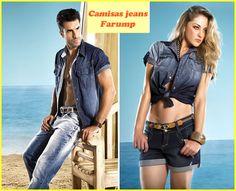 Os looks com camisas jeans estão em alta tantopara eles quanto para elas, e o mais interessante dessa tendência é a sua versatilidade, que permite a composição de diferentes estilos. A Farump dá dicas de looks com camisas jeans em seu blog, vem ver!     http://www.farump.com.br/blog/index.php?id=23