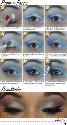 Smokey Azul e Lilás
