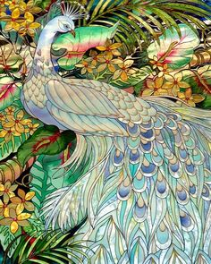 [I like this pastel version of a peacock.] Stained Glass 53 by Joyce StJames - Stained Glass 53 Photograph - Stained Glass 53 Fine Art Prints and Posters for Sale Stained Glass Panels, Stained Glass Patterns, Leaded Glass, Stained Glass Art, Window Glass, Glass Painting Patterns, Stained Glass Tattoo, White Peacock, Peacock Art
