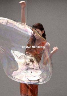 Kostas Murkudis / Brands like us* Foto Fashion, Fashion Art, Editorial Fashion, Editorial Hair, Beauty Photography, Editorial Photography, Fashion Photography, Bubble Photography, Levitation Photography