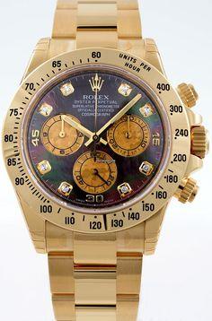 Rolex Cosmograph Daytona MOP Dia 116528(lagernd) $27,479