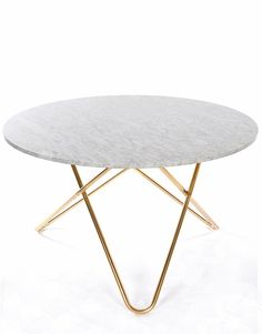 O Dining Table Marble | Artilleriet