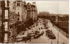 上海英租界 The Bund Shanghai 1920s