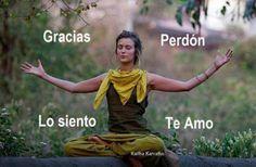 Hoponopono....karma liberation....healing