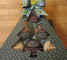 Project Center - K-Cup Coffee Gift Box - Christmas Tree