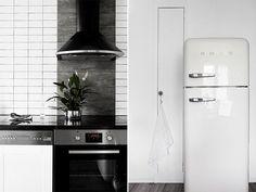 Retro and modern kitchenware