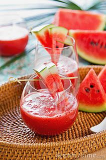 3-Day Watermelon Cleanse - Upon rising: 6 ounces of ,watermelon juiced ½ lemon, juiced with the watermelon  Optional: add grated ginger, mix in blender. You can also juice the ginger and mix with watermelon juice. To juice the watermelon. Place watermelon in blender. Blend well. Use a cheese cloth or nut milk bag to strain the watermelon. Mix lemon juice and watermelon together.