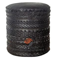 Old tyre seat