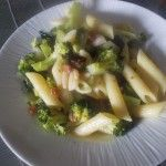 Pasta risottata con i broccoletti