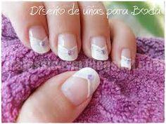 Resultado de imagen para decoraciones de uñas para novia