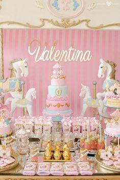 Enchanted Carousel Birthday Party on Kara's Party Ideas | KarasPartyIdeas.com (25)