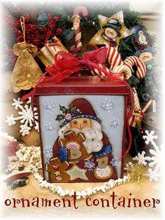Sweet Santa email pattern packet Terrye by PaintingWithFriends