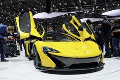 Les extrêmes - salon de Genève  2013  Nouvel exposant, McLaren fête ses 50 ans en proposant une série de 375 supersportives P1, hybride de 916 ch. A partir de 1,2 million de francs.  http://www.lematin.ch/auto-moto/geneve-collectionne-voitures-millionnaires-vehicules-ecolos/story/14509865