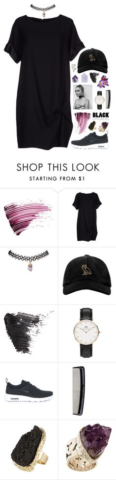 """hand to hold"" by stellarosee on Polyvore featuring Yves Saint Laurent, RHIÉ, Wet Seal, October's Very Own, Topshop, Daniel Wellington, NIKE, Denman, River Island and Anuja Tolia"