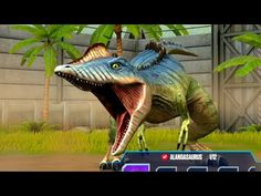 Continue playing Jurassic world and keep battle dinosaurs - have a new fused dinosaur alangasaurus, which is very powerful and fused for alanqua and majungas. Game Jurassic World, Prehistory, Dinosaurs, Battle, Stars, Games, Animals, Pics Of Dinosaurs, Clearance Toys