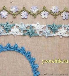 Crochet Knitting Handicraft: Patterns for Knitting