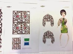 patternprints journal: BEAUTIFUL PRINTS AND TRIMMINGS IN FASHION COLLECTIONS BY YUBO LIN