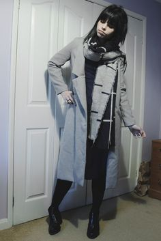 Look do dia: Plaid scarf - Fiercekrieg