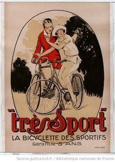 """""""Très Sport"""". La bicyclette des sportifs, garantie 5 ans"""
