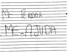 Menina escreve carta à mãe para denunciar pai por estupro
