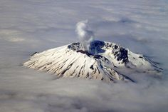 Mount St. Helens in Skamania County