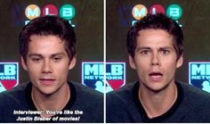 Knowing that Dylan is a huge Mets Fan, he appeared on MLB Central and talked about the New York Mets... Love Dylan´s face after interviewer comment :)