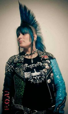 Crust Punk, Rockabilly, Punk Girls, Crossover, Crock, Wave, Battle, Jackets, How To Wear