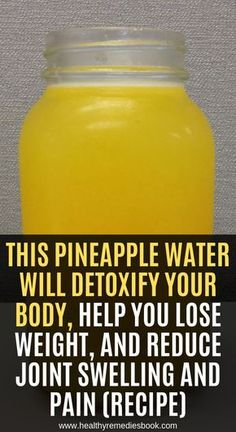 Dieses Ananaswasser entgiftet Ihren Körper, hilft Ihnen beim Abnehmen und reduz… This pineapple water detoxifies your body, helps you lose weight and reduces … – home remedies – weight the Home Health Remedies, Natural Health Remedies, Natural Cures, Herbal Remedies, Natural Healing, Natural Oil, Natural Treatments, Detox Drinks, Healthy Drinks