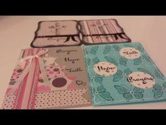 GORGEOUS Prayers Card Ideas using Recollections Blessing Stamp Set - YouTube