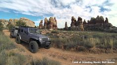 Guide to Moab Utah Backroads & 4-Wheel-Drive Trails 3rd Edition Moab Utah, Cross Country, Trail, Places To Visit, Vacation, Cross Country Running, Vacations, Trail Running, Holidays Music