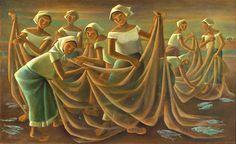 Filipino at its best by Anita Magsaysay-Ho Filipino Art, Filipino Culture, Value Painting, Painting & Drawing, Philippine Art, Mexican Art, New Artists, Asian Art, Sculpture Art