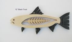Techno Fish (Canceled) by Mark Gottschalk — Kickstarter Fish Wood Carving, Bone Carving, Wood Carvings, Wood Craft Supplies, Fish Artwork, Intarsia Wood, Wood Fish, Small Wood Projects, Diy Projects