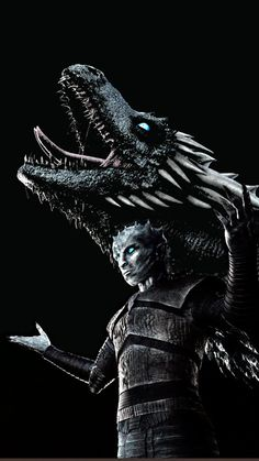 Night King and Viserion wallpaper #GameofThrones