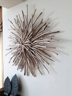 Do you love the beach and the sun? Do you looking for something really different to say goodbye to boring walls? Then this driftwood sunburst wreath is for you. Stunning driftwood art for your front door,mantel space or a wall that you want to give a modern and unique touch.
