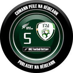 DNZ Football Buttons: Seleção da Irlanda