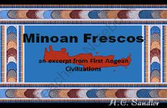 FREE Minoan Frescos: an excerpt from 1st Aegean Civilizations PowerPoint Presentation from Skool Aid Products on TeachersNotebook.com -  (10 pages)  - Ever want to be an archeologist?  How would you describe the finds at a dig?  Find out.  This presentation lets students observe, analyze, discuss, confirm and reflect on the frescos discovered by Sir Arthur Evans at his dig site in Crete.  This is the pe