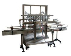 Accutek's overflow filling machines are best suited for filling liquids with low to medium viscosity.