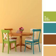 blanco y celeste, celeste, color marrón, combinación de colores para decorar interiores, combinaciones de colores, elección del color, selección de colores para el diseño de interiores, tonos celestes, tonos marrones, verde.