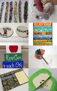 Great Teacher's Gifts! by Michele on Etsy #MaineTeam #TeachersGifts #GiftsForTeachers