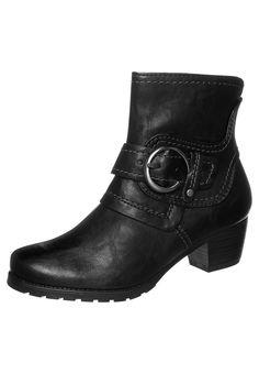I gots me these! (Marco Tozzi - Biker-/cowboynilkkurit - musta)