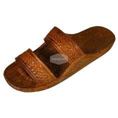 """9041c63decdb86 Classic Light Brown """"Hawaiian Jandals"""" Pali Hawaii Jesus Sandals"""
