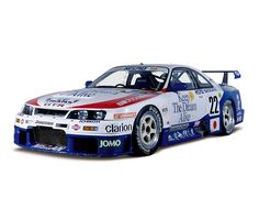 Skyline GT-R(1995: BCNR33)Nissan stopped competing in the Le Mans after 1990, but NISMO took its place. Their Skyline-based GT car - NISMO GT-R LM - was entered for Le Mans in 1995 and 1996. In 1995, this No.22 car (H. Fukuyama/S. Kasuya) was 10th overall and 5th in its class. It was modified to 2WD (FR) drive, a better choice for heavy vehicles. And unlike the No.23 car, it was powered by a Group N specification engine.