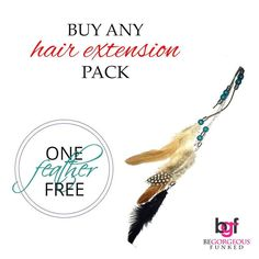 #ChristmasOffer One stylish feather free with the purchase of any hair extension!  #JustBeFunked #BeGorgeous #OrganicProducts #NoDamage #HealthyHair #HappyDay #HappyHair #HappyGirl #Everydayisagoodhairday #BeGorgeousGirl #BeGorgeous #BeGorgeousFunked #ILoveBG #ILoveJBF